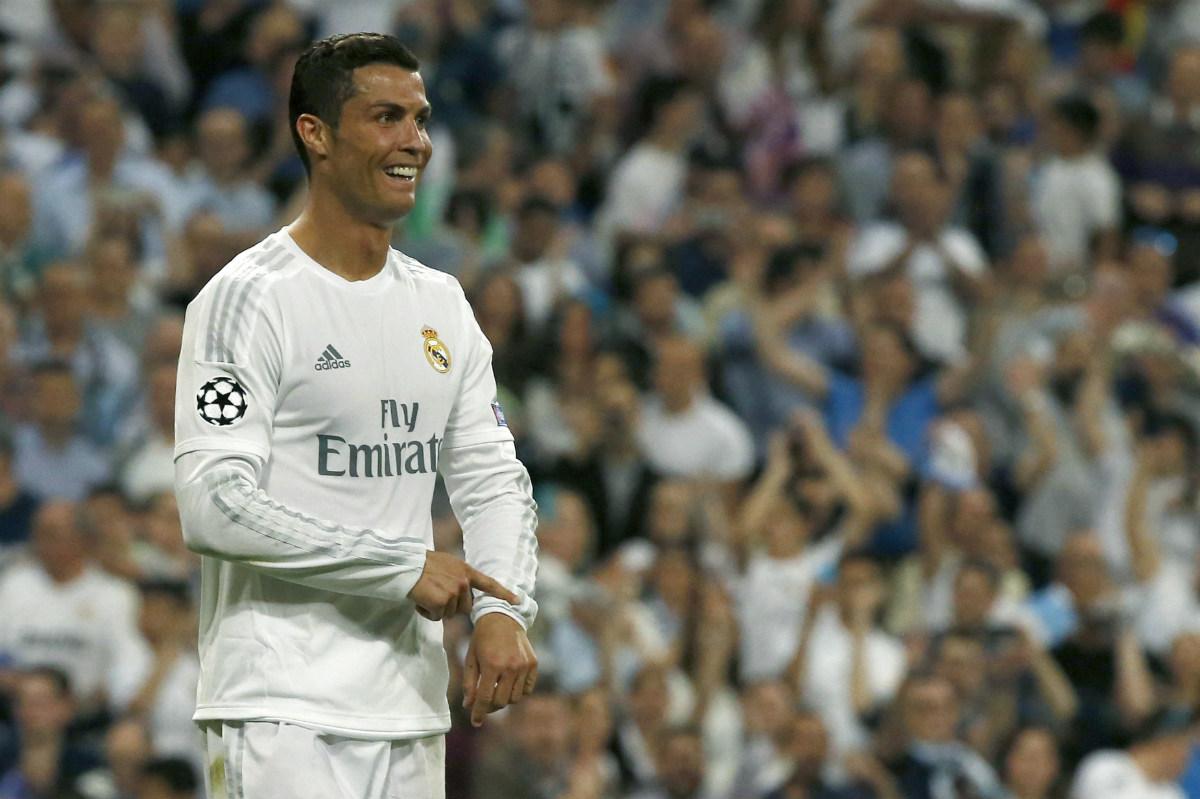 Cristiano Ronaldo, en la vuelta de las semifinales de Champions. (EFE)
