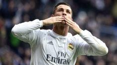 Cristiano Ronaldo celebra un gol ante el Celta. (AFP)