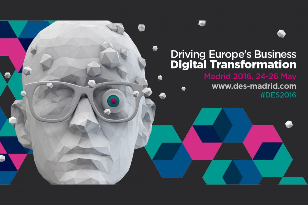 El cartel anunciante del Digital Enterprise Show.