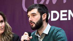 El diputado de Podemos y portavoz de Exteriores en el Congreso, Pablo Bustinduy.