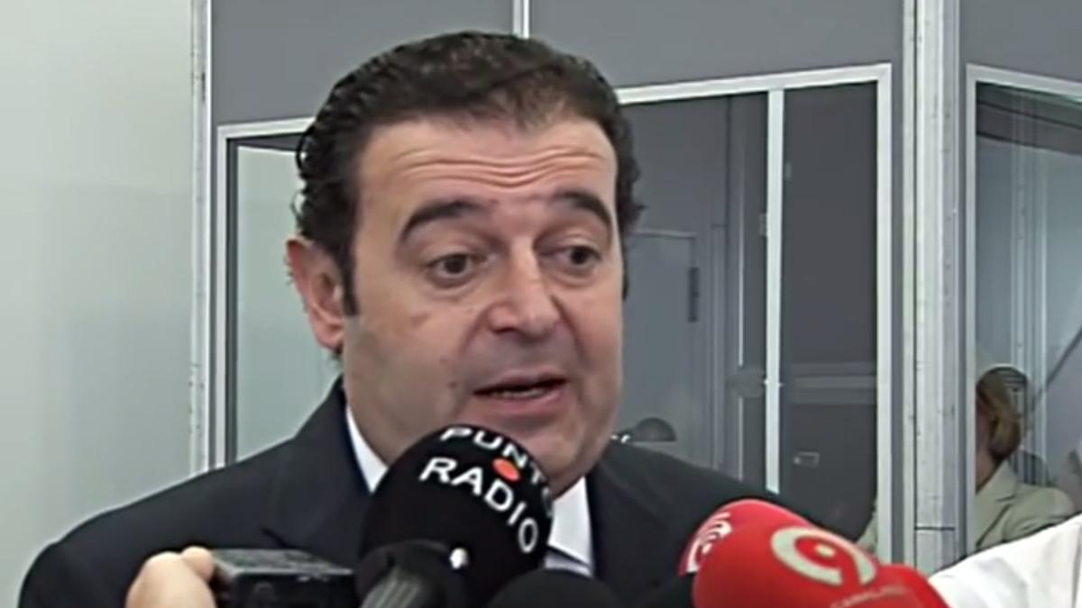 Gerardo Camps, ex vicepresidente de la Generalitat de Valencia.