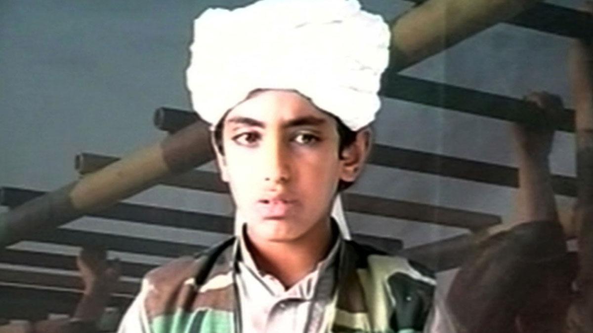 Hamza bin Laden en una imagen de archivo.