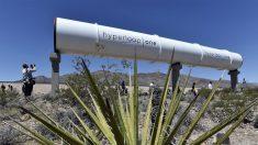 Instalación de un tubo de Hyperloop en Las Vegas. (Foto: AFP)