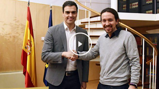 Iglesias propone al PSOE una coalición anti PP en el Senado y Sánchez dice «no»