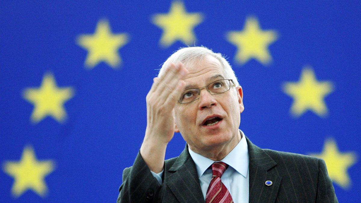 Josep Borrell. (Foto: AFP)