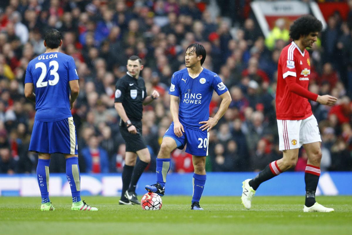El Leicester sólo pudo empatar en Old Trafford.