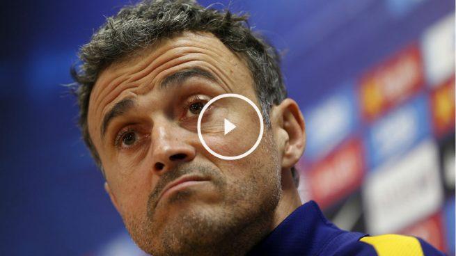 Luis Enrique confiesa ser fan de Guardiola: «Me la repampinfla que gane o pierda la Champions, es el mejor»