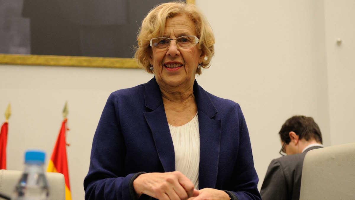 La exjueza de 72 años Manuela Carmena. (Foto: Madrid)