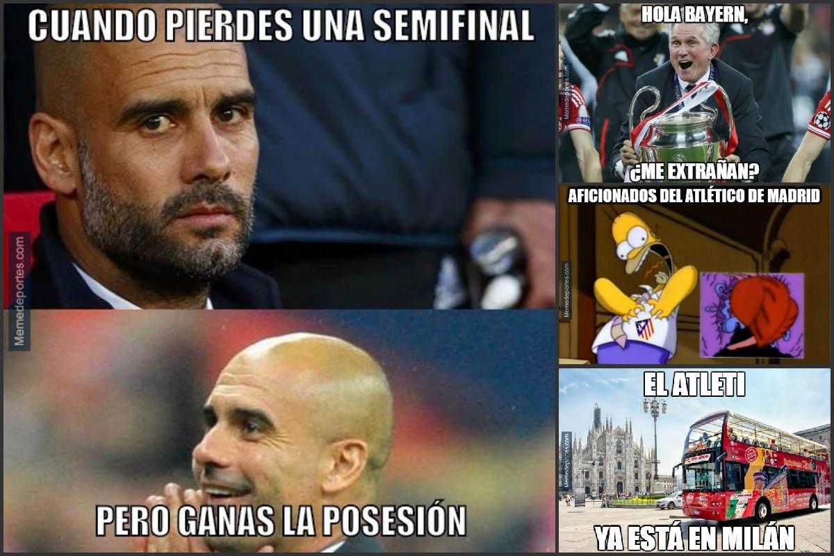 Los mejores memes del Bayern Vs Atlético.
