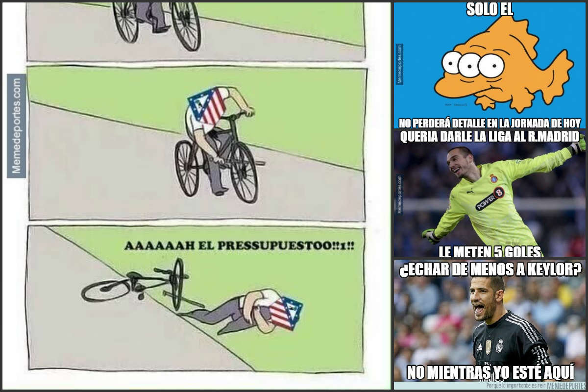 Los mejores memes de la Jornada 37 de Liga.