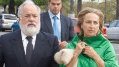 Miguel Arias Cañete y Micaela Domecq.