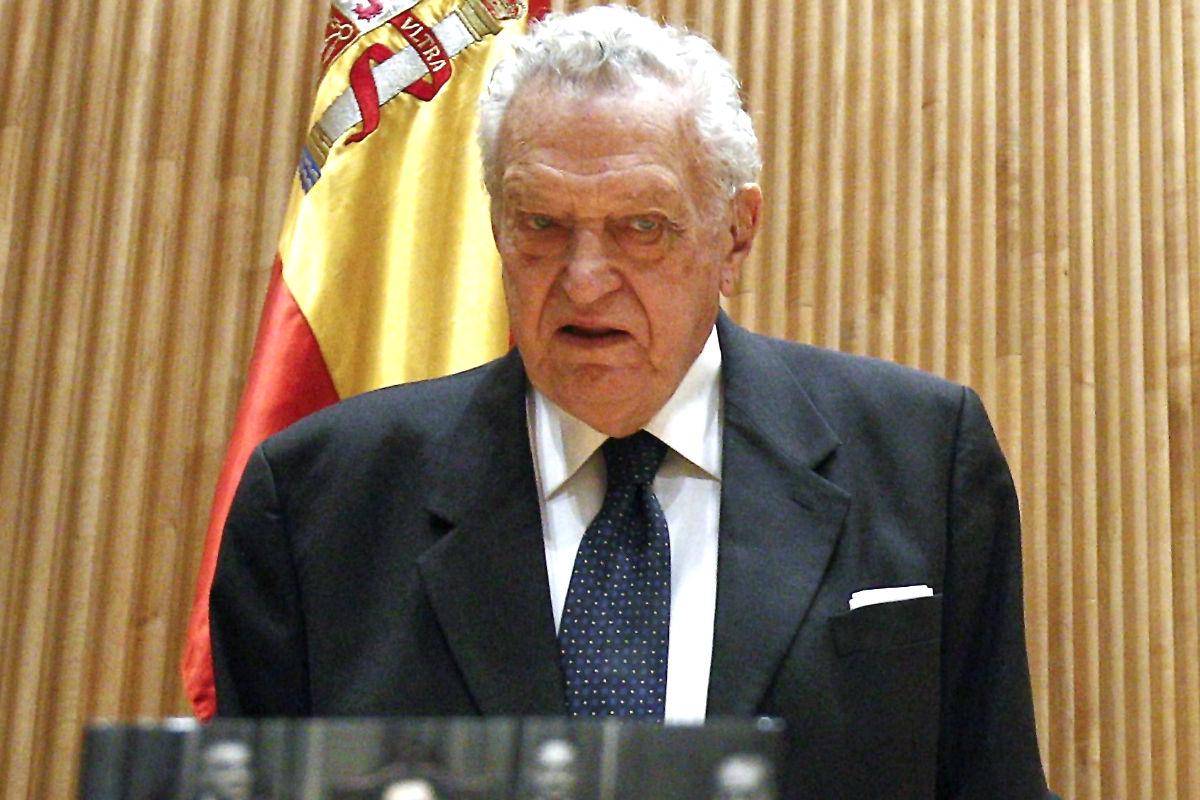 Fernando Álvarez de Miranda en una imagen de 2013 (Foto: Efe).