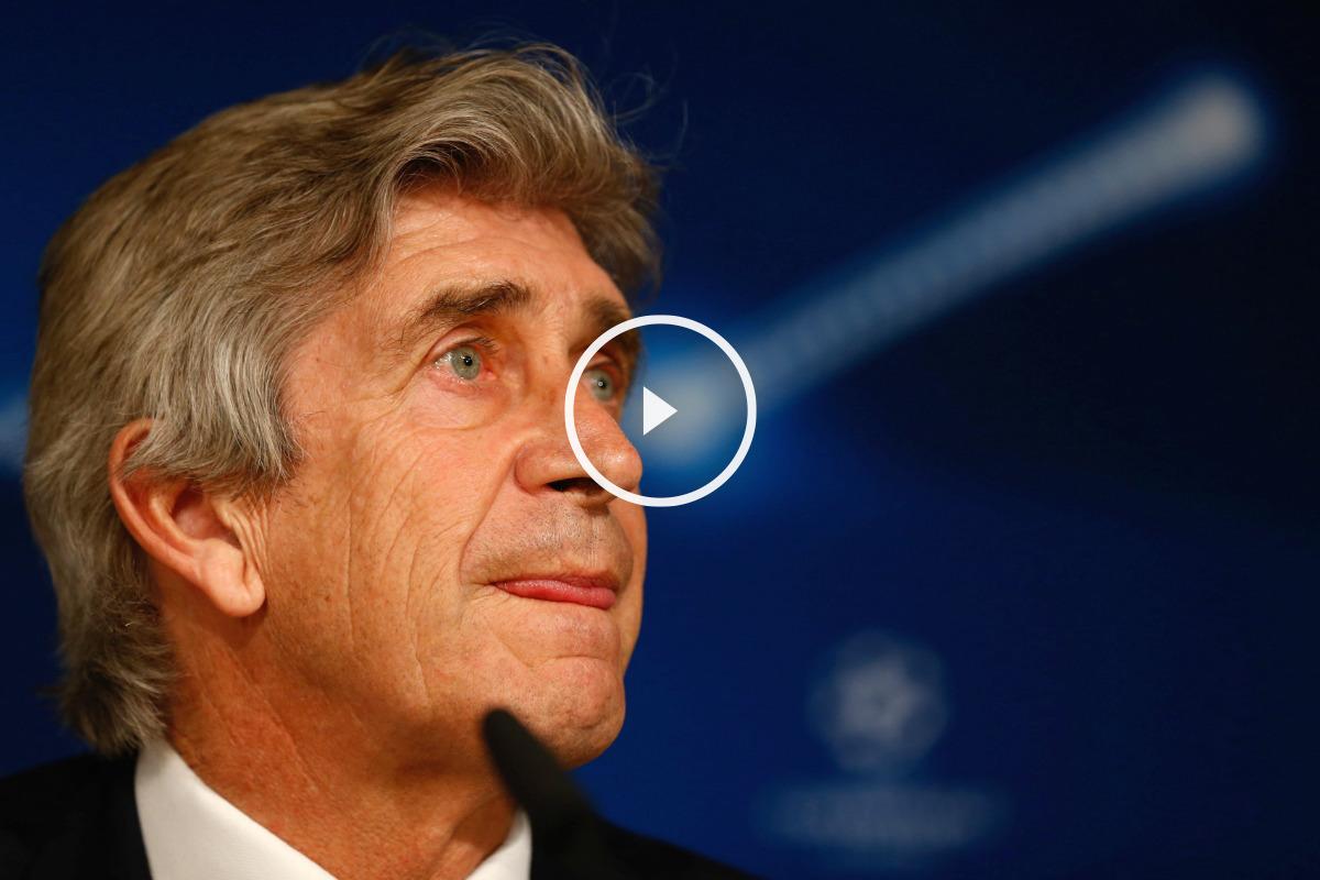 Pellegrini analizó el Real Madrid-City en sala de prensa. (Reuters)
