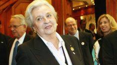 Pilar de Borbón, hermana del rey Juan Carlos. (AFP)