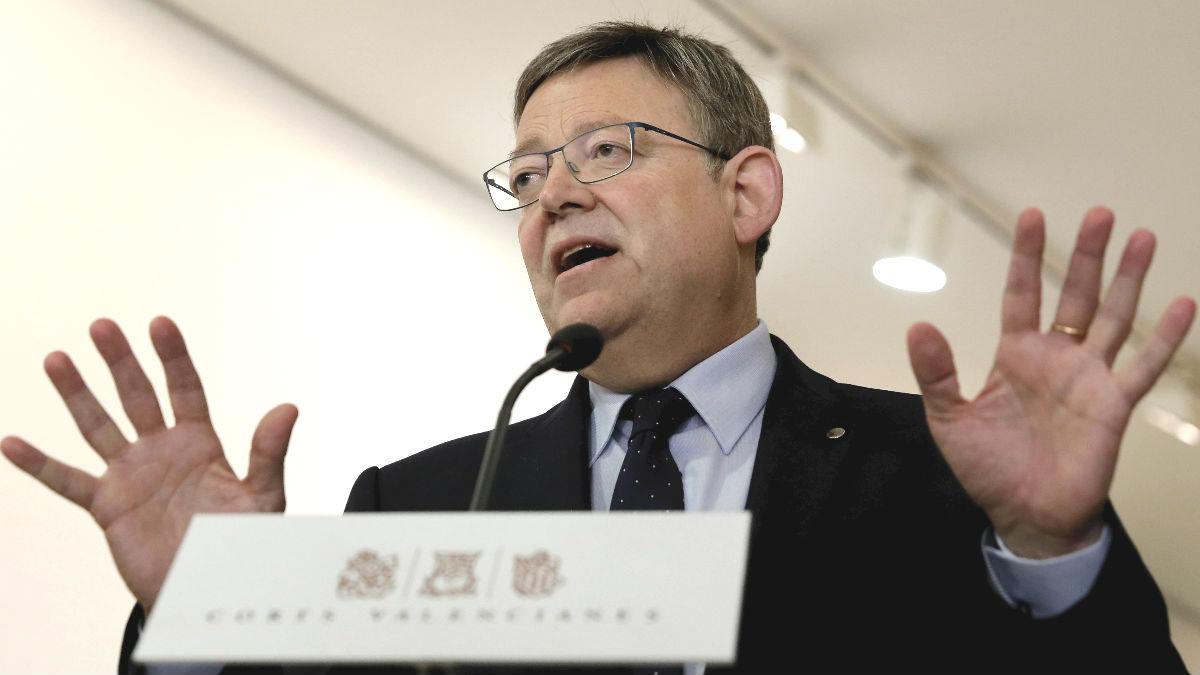 El secretario general del PSPV-PSOE y presidente de la Generalitat Valenciana, Ximo Puig (Foto: Efe)