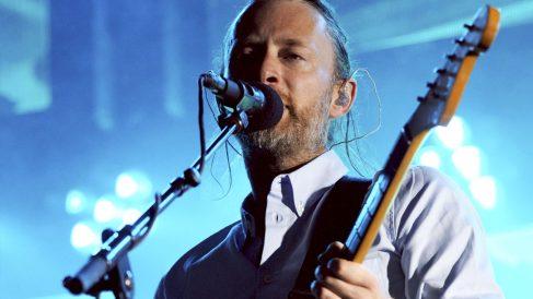 Thom Yorke, líder de Radiohead. (Foto: AFP)