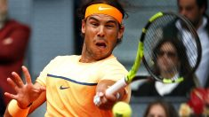 Rafa Nadal, eliminado del Mutua Madrid Open tras perder con Murray. (Reuters)
