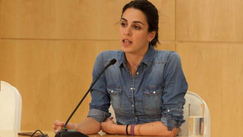 Rita Maestre en rueda de prensa. (Foto: Madrid)