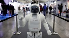 Robot Asimo en una feria en Madrid (Foto: getty).