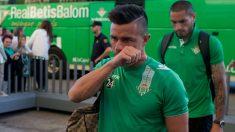 Rubén Castro, antes de un partido de Liga contra la Real Sociedad. (Getty)
