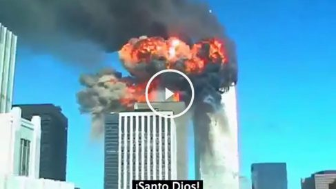 El video inédito del 11S está grabado a pocas calles de la zona cero y en él se puede ver el impacto del segundo avión.