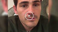 Casillas charló con sus seguidores en Facebook.