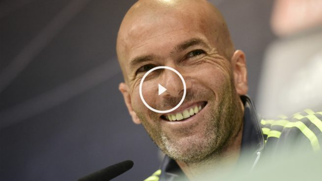Zidane: «Mientras queden minutos por jugar, vamos a creer en la Liga»