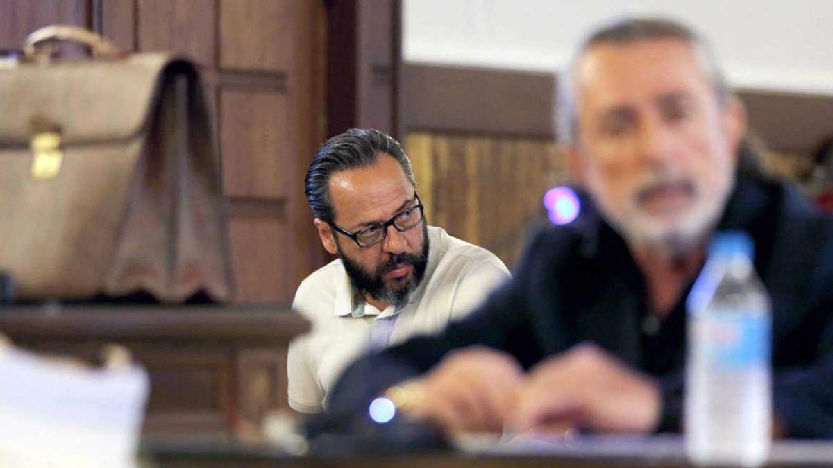 Álvaro Pérez 'El Bigotes' y Francisco Correa. (Foto: EFE)
