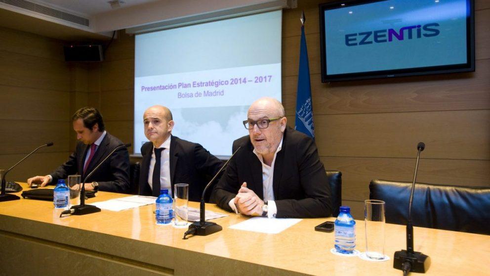 De izquierda a derecha, Roberto Cuens, Fernando González y Manuel García-Durán