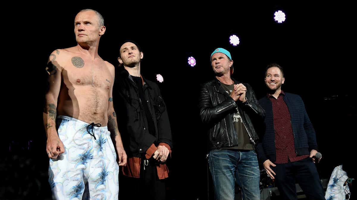 La banda Red Hot Chili Peppers. (Foto: Getty)