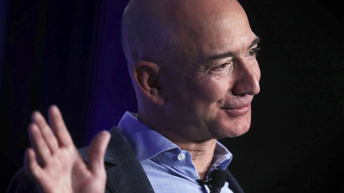 Jeff Bezos, CEO de Amazon. (Foto: AFP)