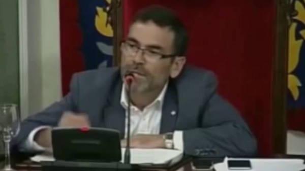 José López, alcalde de Cartagena (Foto: Youtube)