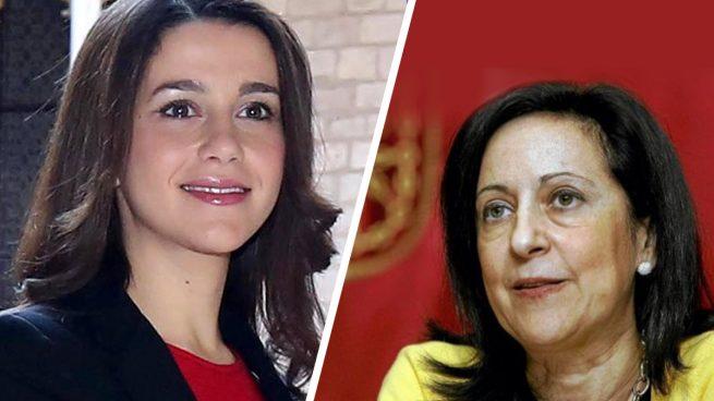 Andrea Levy, Margarita Robles e Inés Arrimadas: las representantes del PP, PSOE y C's en el debate a cuatro de mujeres