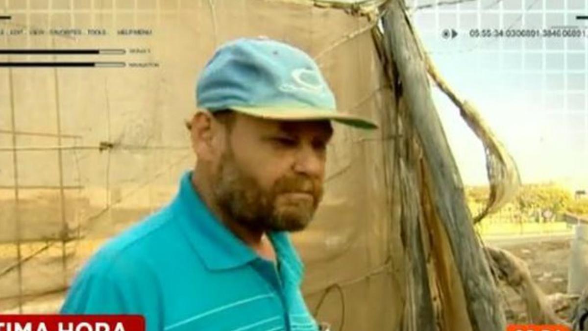 El hombre imputado por la desaparición de Yeremi Vargas declaró a Espejo Público, de Antena 3, durante la investigación.