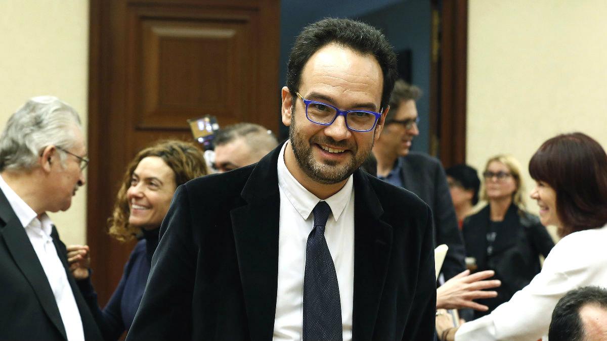 El portavoz socialista en el Congreso, Antonio Hernando (Foto: Efe)