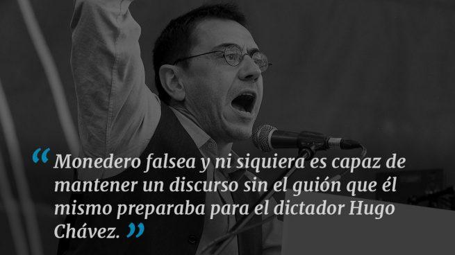 El Tribunal Constitucional venezolano señala a Monedero y sus «tomas falsas»