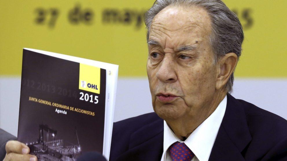 El presidente de OHL, Juan Miguel Villar Mir. (Foto: EFE)