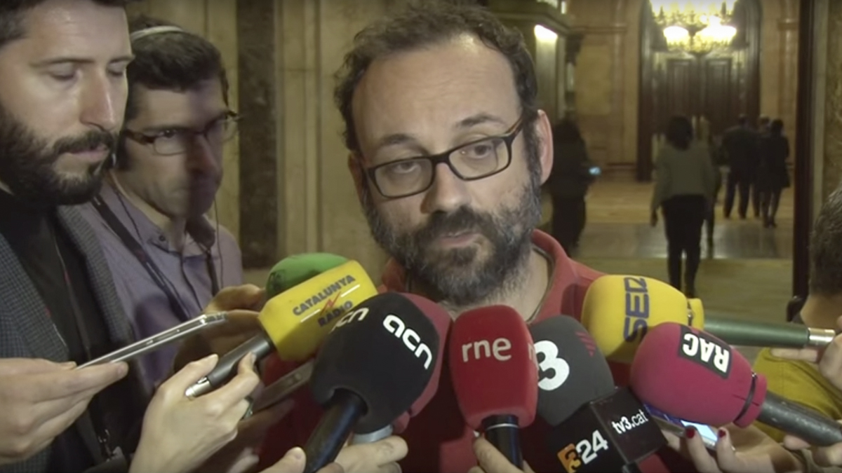 Benet Salellas, diputado de la CUP.