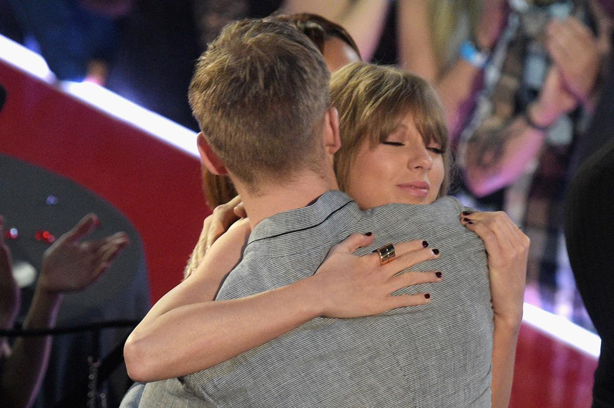 Taylor Swift y Calvin Harris (Getty)