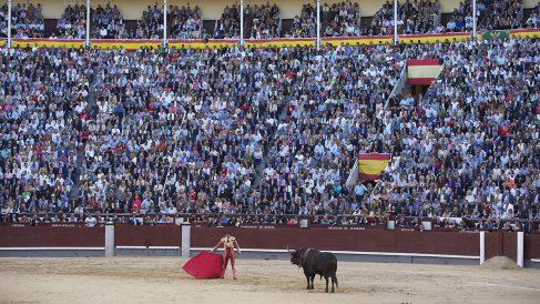 Las Ventas registró un llenó en la Corrida de la Beneficencia (Foto: Getty).
