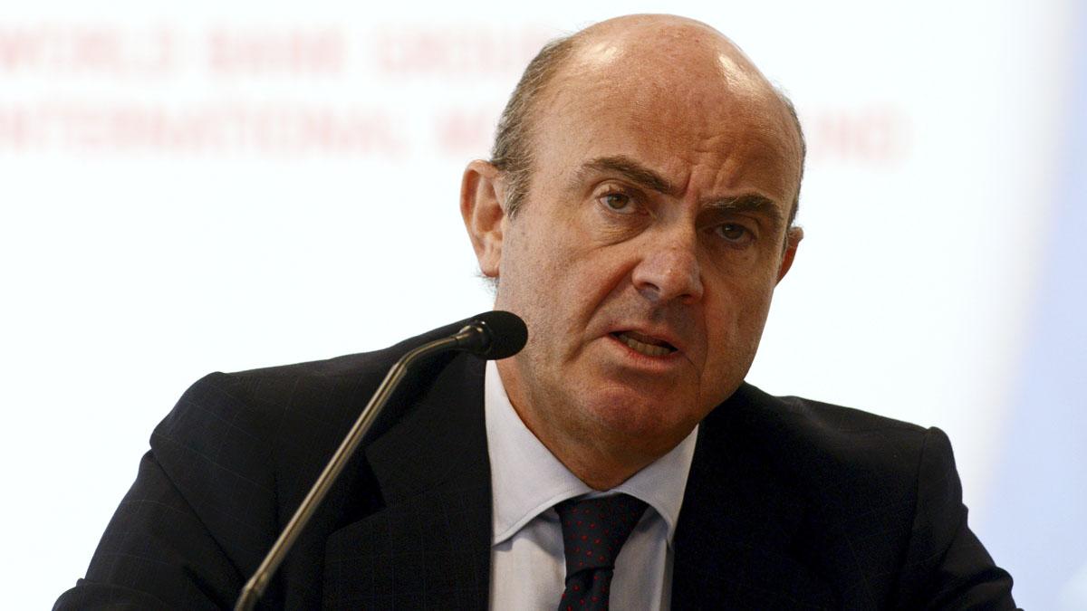 Luis de Guindos. (Foto: AFP)