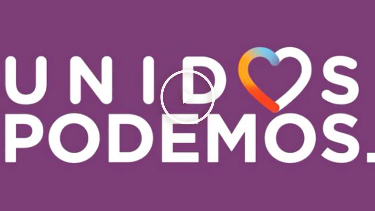 El logo de campaña de Unidos Podemos (Foto: Twitter)
