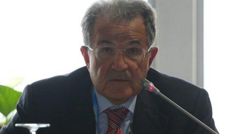 El expresidente de centro izquierda italiano, Romano Prodi. (Foto: Getty)