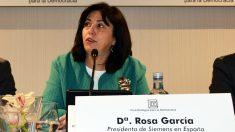 La presidenta de Siemens España, Rosa García.