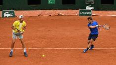 Feliciano y Marc López perdieron la final de Montecarlo. (Getty)