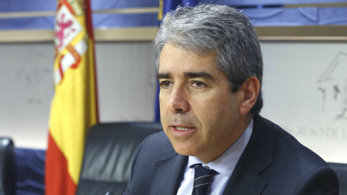 El candidato de CDC a las elecciones generales, Francesc Homs (Foto: Efe)
