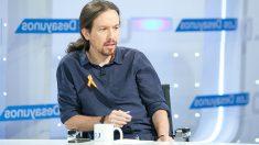 Pablo Iglesias en los Desayunos de TVE