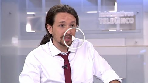 Pablo Iglesias, en Telecinco