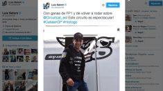 Este fue el último tuit de Luis Salom. (Twitter)