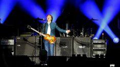 El ex beatle Paul McCartney, en Madrid. (EFE)